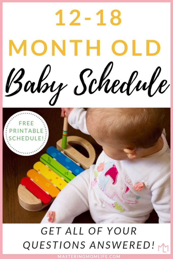 12 18 Month Old Baby Schedule Free Sample Schedule That Works