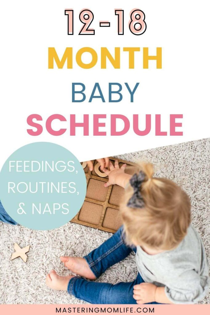 12-18 Month Old Baby Schedule for an Easy Day