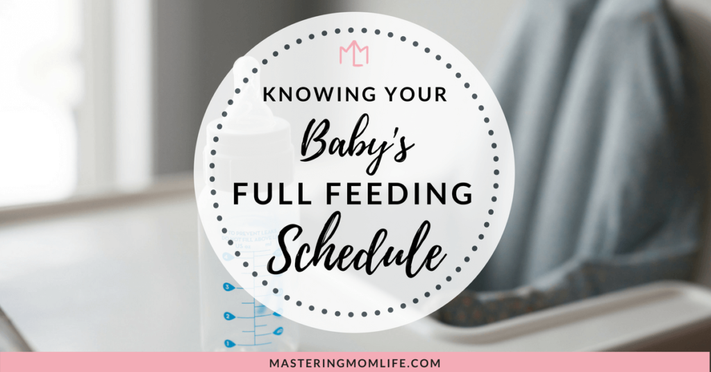 Full Feeding Schedule | Feeding to Get Your Baby Full | Baby Tips | Feeding Schedule | Mom Life Tips | #momadvice #parenting