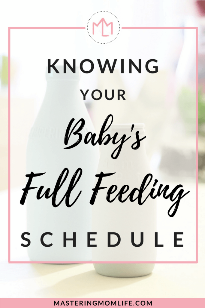Full Feeding Schedule | Feeding to Get Your Baby Full | Baby Tips | Baby Schedule | Feeding Schedule | Mom Life Tips | #momadvice #parenting