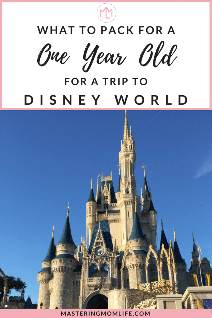 Packing For a One Year Old To Disney World | Disney Packing Tips | Family Travel Tips | Disney with toddlers | Disney mom | #disneyfamily #momlife #familytravel