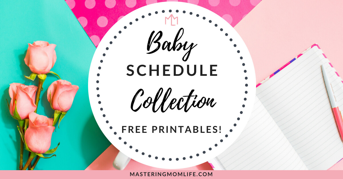 Baby Schedule Collection Free Printables
