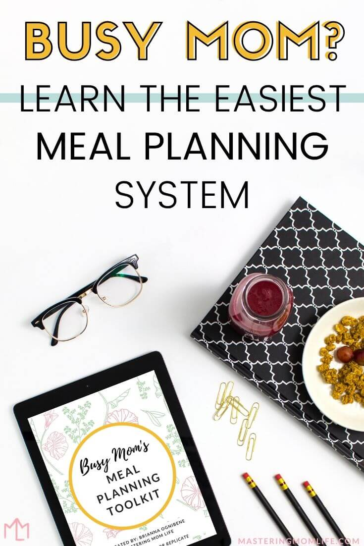Busy Mom? Learn the Easiest Meal Planning System