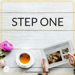 5 Steps to Easy Meal Planning- step 1