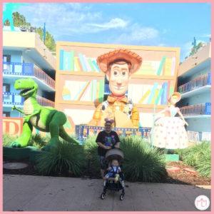 Disney's All Star Resort| Toddler at Disney World