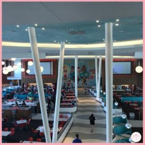 Cabana Bay Bayliner Diner Seating