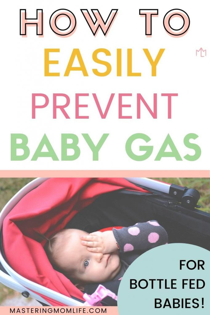 How to easily prevent baby gas: bottle feeding tips