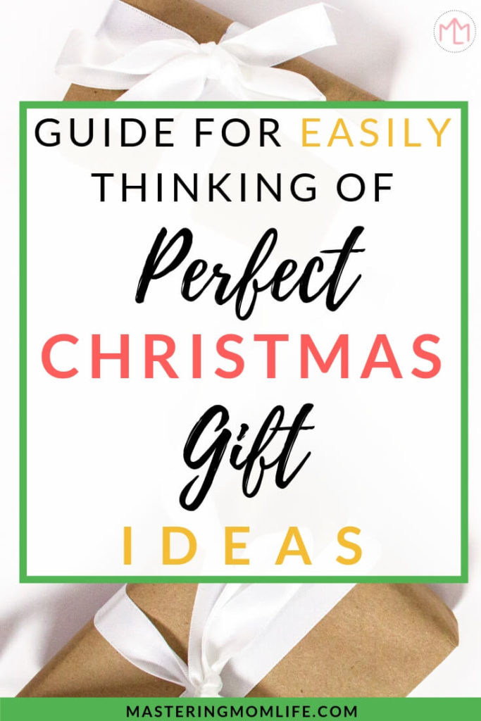 Come Up With Perfect Christmas Gift Ideas | Christmas List | Christmas Planner | Gift Ideas | Family | Mom Life Hacks | #christmas #christmasgift #christmasplanner
