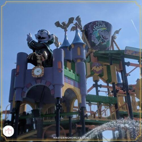 Count's Splash House| Sesame Place Tips