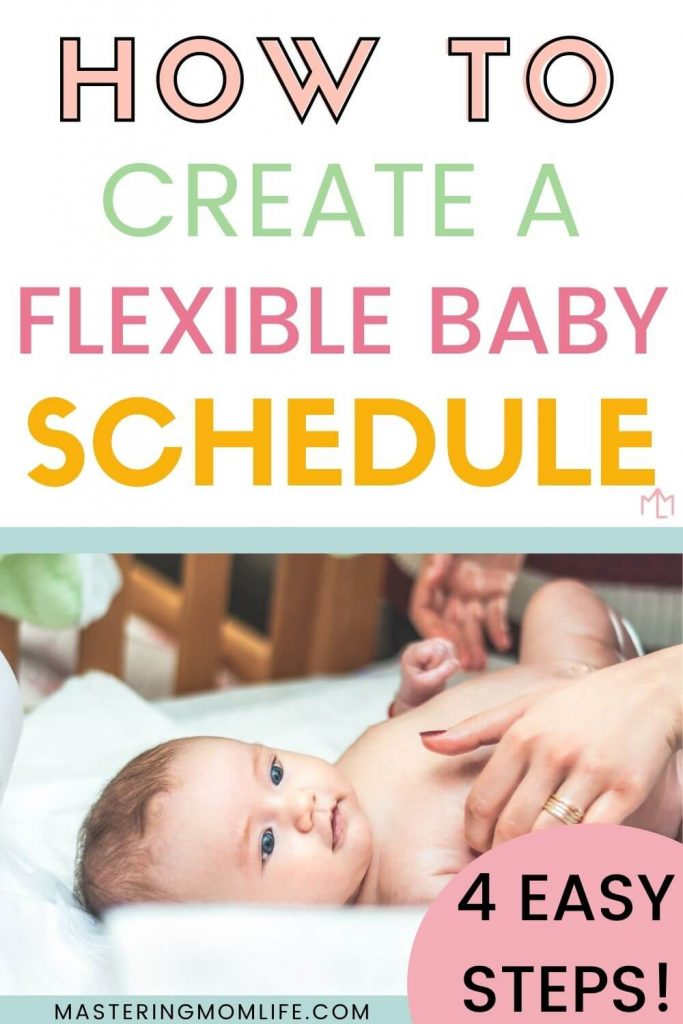 How to create a flexible baby schedule