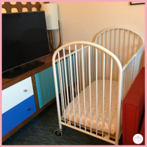 Crib at Cabana Bay Beach Resort