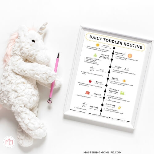 Daily Toddler Routine Sample Toddler Schedule