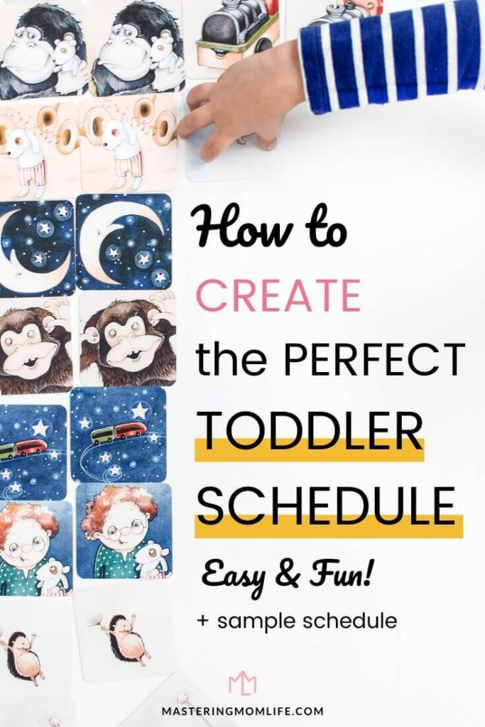 How to create the perfect toddler schedule