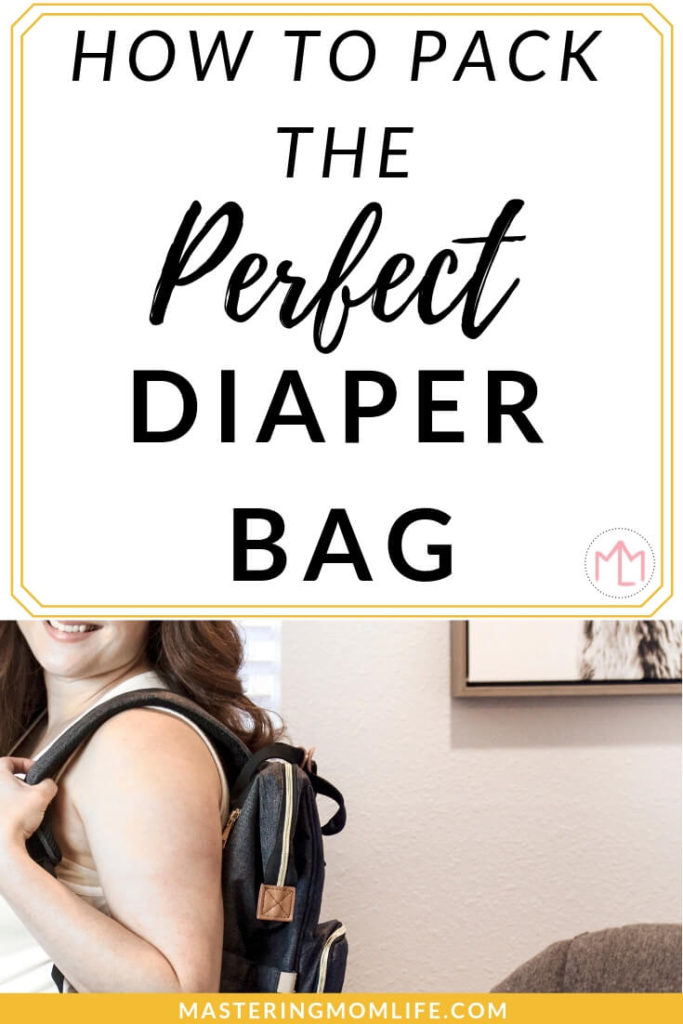 Wondering how to pack the perfect diaper bag? Here are my exclusive tips and tricks for making sure you always have the diaper bag essentials. Pack everything you and your baby needs in the diaper PLUS get my free diaper bag checklist to make sure you never forget anything! #momadvice #parentingtips #babytips #momlife