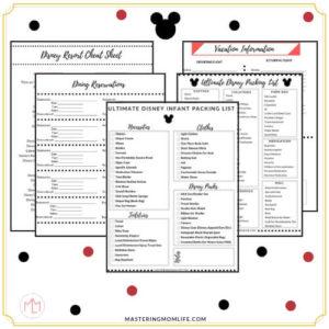 Free Disney Planning Packet