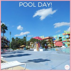 Disney Vacation With a Toddler: Pool Day