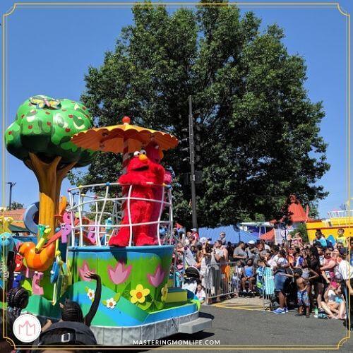 Sesame Street Elmo Parade