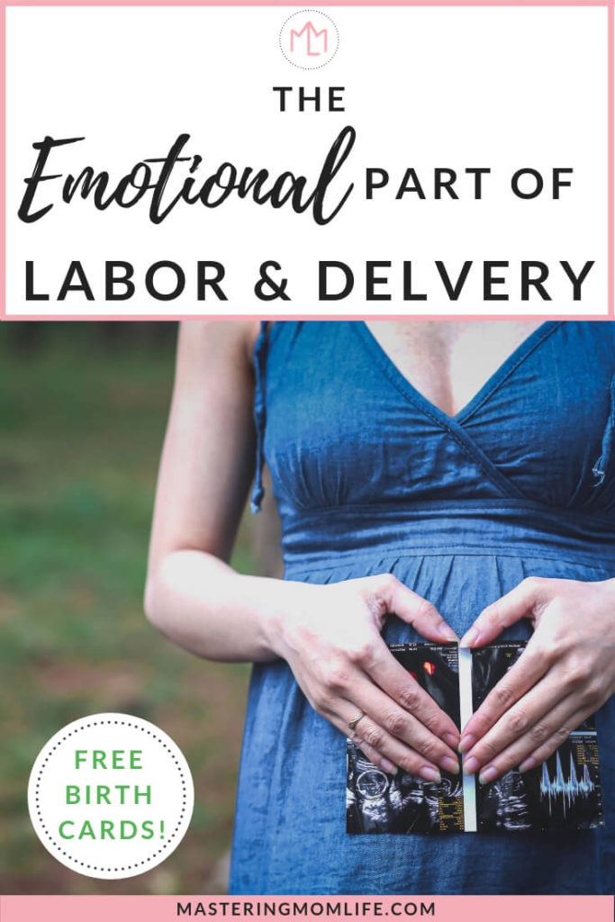 The Emotional Part of Labor and Delivery | Childbirth | Third Trimester | Preparing For Baby | Birth Affirmations | #newmom #baby