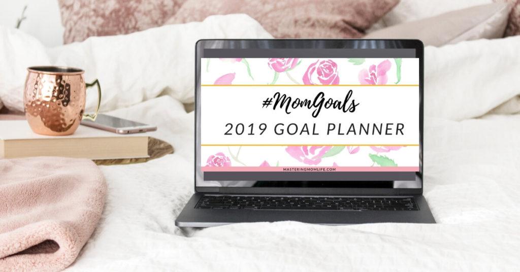 MomGoals 2019 Goal Planner Desk Design