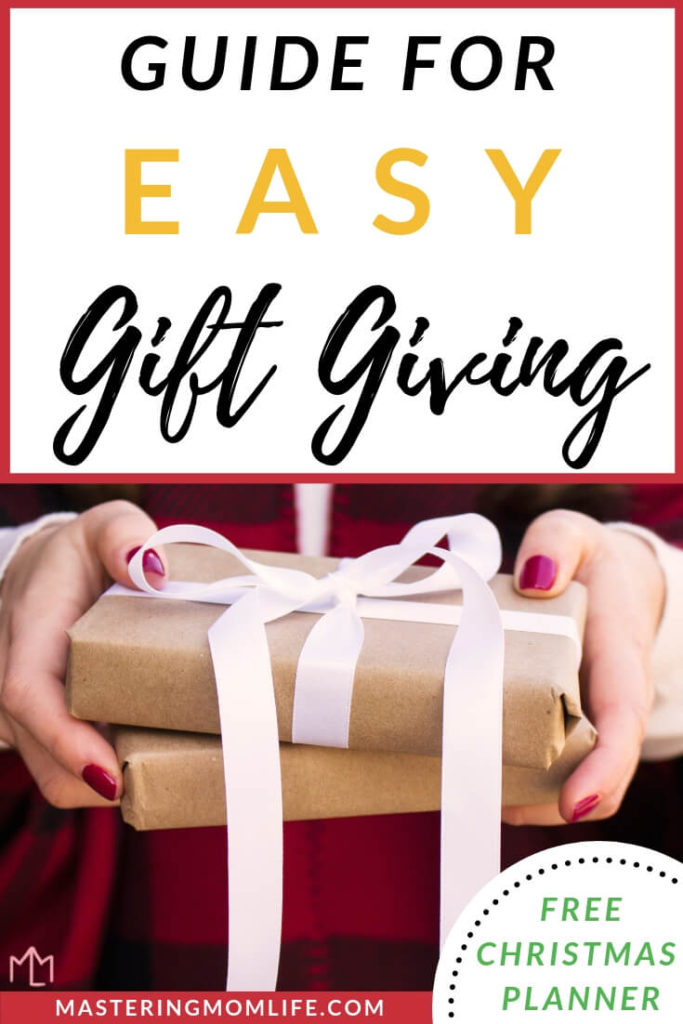 Guide for Easy Gift Giving | 5 Steps to Accomplish Holiday Shopping on a Budget | gift giving guide | gift giving | Christmas list | Christmas budget | #giftgiving #christmasgift #christmaslist
