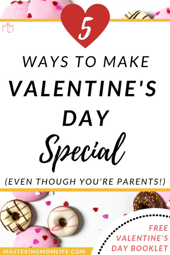 Do you want to make Valentine's Day as special as it was before you were parents? Find out how to make your Valentine's Day as parents fun, special and romantic! Plus get a free love coupon and Valentine's Day booklet to give your spouse as a gift! Celebrate Valentine's Day together in love! #marriagegoals #marriagetips #valentinesday