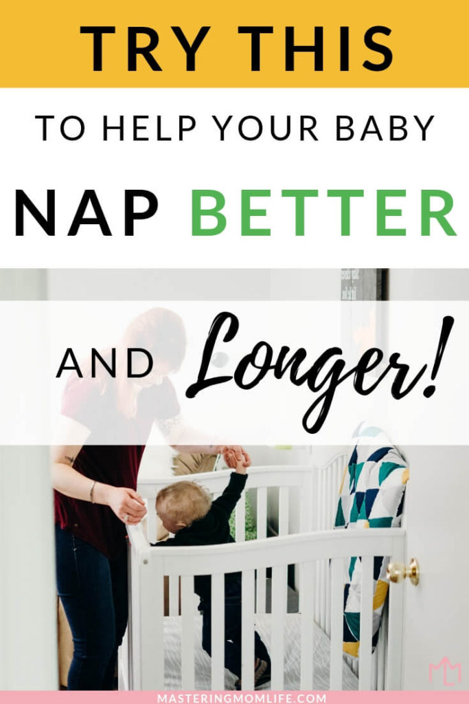 Find out the true importance of a baby nap routine and how it can help your baby nap better, nap longer and nap consistently. Having a nap routine is an amazing baby tip that can truly improve your baby's naps! #newmom #baby #parenthood #parenting #parentingtips