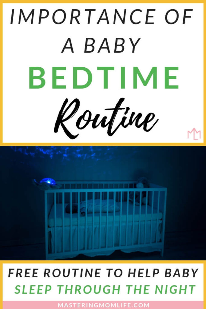 The importance of a baby bedtime routine to help your baby sleep better and longer! | Improve your baby's sleep patterns | baby bedtime routine tips | baby nighttime routine | gentle bedtime routine | baby sleep | free bedtime routine | baby tips and tricks | parenting tips | #babytips #parenting101 #parentingtips #baby