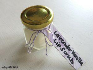 DIY Lavender Lip Scrub