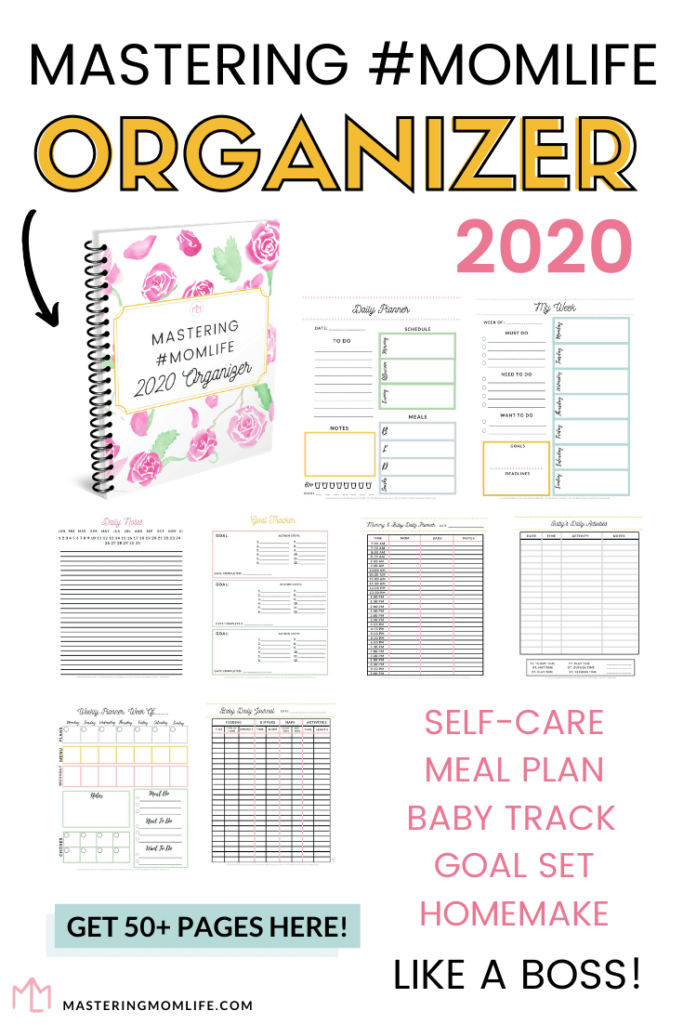 2020 Stay at Home Mom Planner: Mastering Mom Life 2020 Organizer
