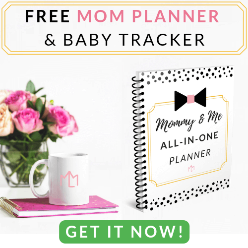 Free Mom Planner and Baby Tracker Printable