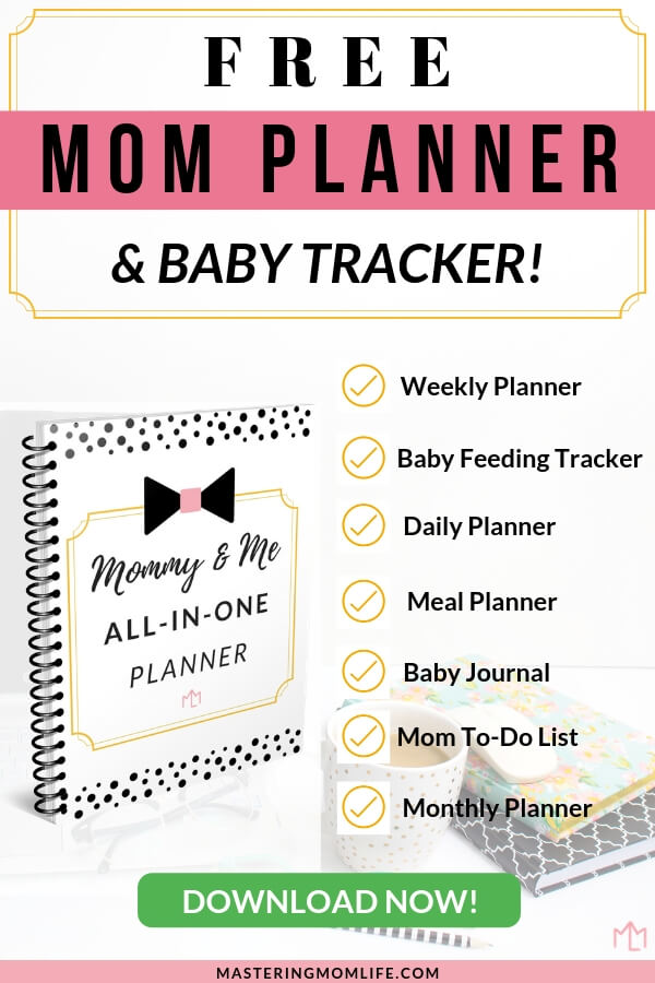 Free Mommy Me All In One Planner Free Mom Planner