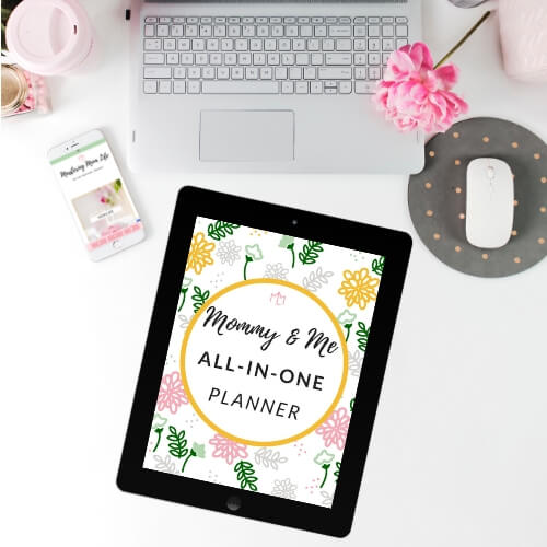 Mommy & Me All In One Planner | Mommy Planner| Free Planner