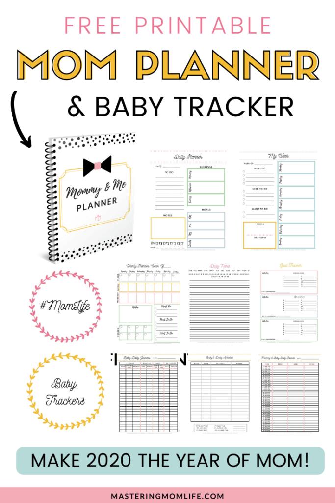 Free Mom Planner & Baby Tracker