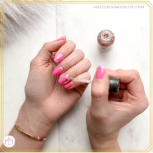 postpartum body changes | nails