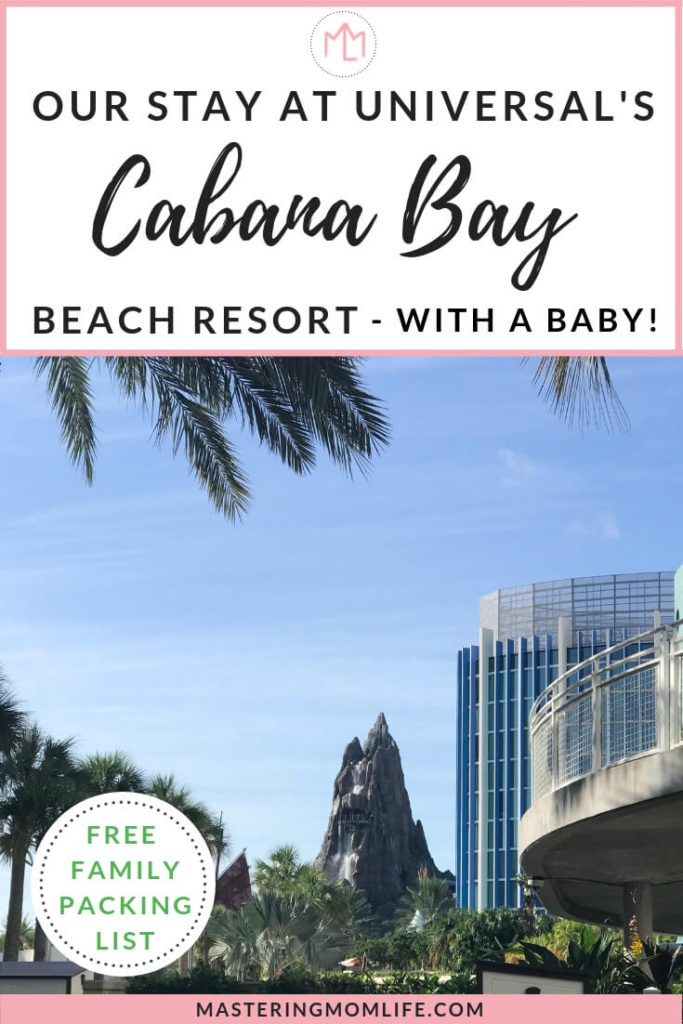 Review of our Stay at Universal's Cabana Bay Beach Resort| family vacation | vacation with baby | family travel tips | packing lists | #family #travel