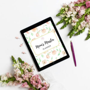 Perfect Mother's Day Gift | Mom Planner