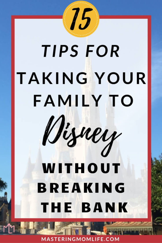 Want to visit Disney World but don't want to spend too much money? Here are 15 tips for planning a trip to Disney World on a budget! These tips will help you do Disney on a budget and plan an affordable and cheap Disney vacation for your family! Plus, a free Disney Printable Planning Packet! #disneyworld #traveltips #familygoals