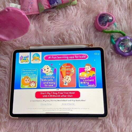 first cry playbees educational app