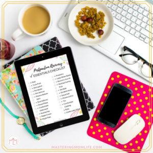 Postpartum Recovery Essentials Checklist