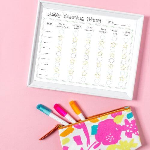 Potty Training Chart and Tracker