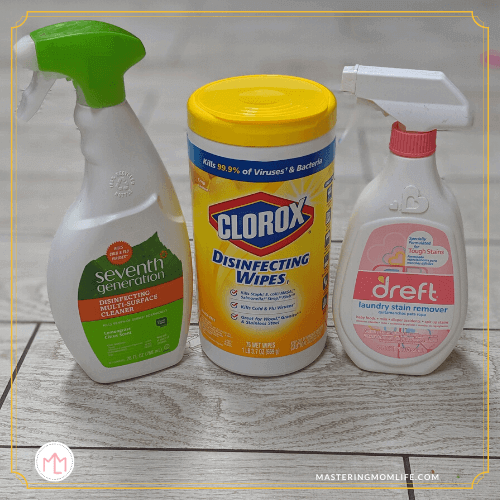 Potty Training Cleaning Products