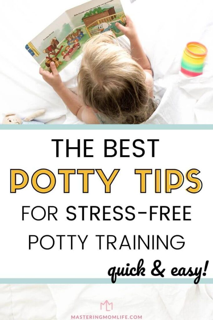 The best potty training tips for toddlers