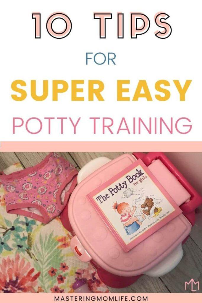 10 tips for super easy potty training