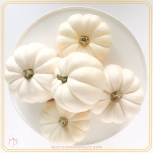 White Pumpkins | Thanksgiving Traditions