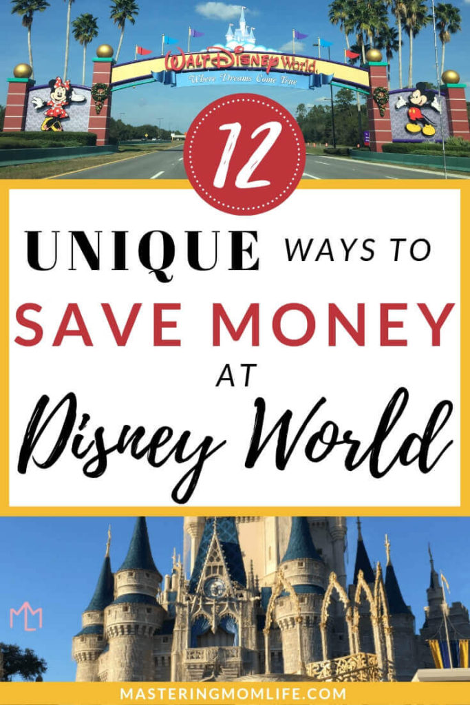 Check out my 12 smart, not so common tips to save money at Disney World! These tips will help you stay on budget while on your Disney vacation. I bet you haven't heard these tips before so you can get the most out of your Disney World Vacation! #disneymom #familyvacation #disneyworld