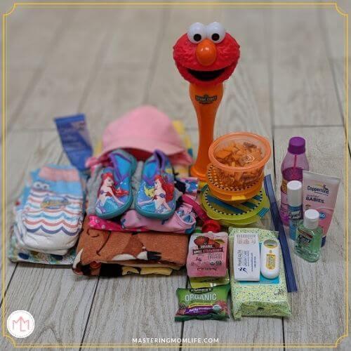 Sesame Place Bag Essentials
