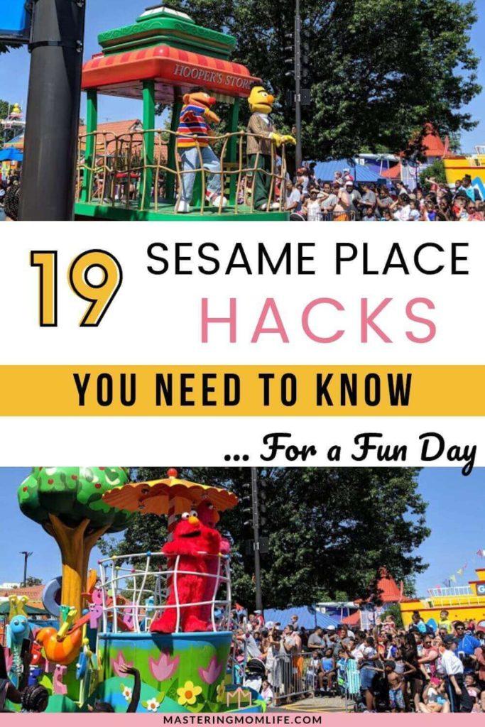 19 Sesame Place hacks: Image of Elmo Parade