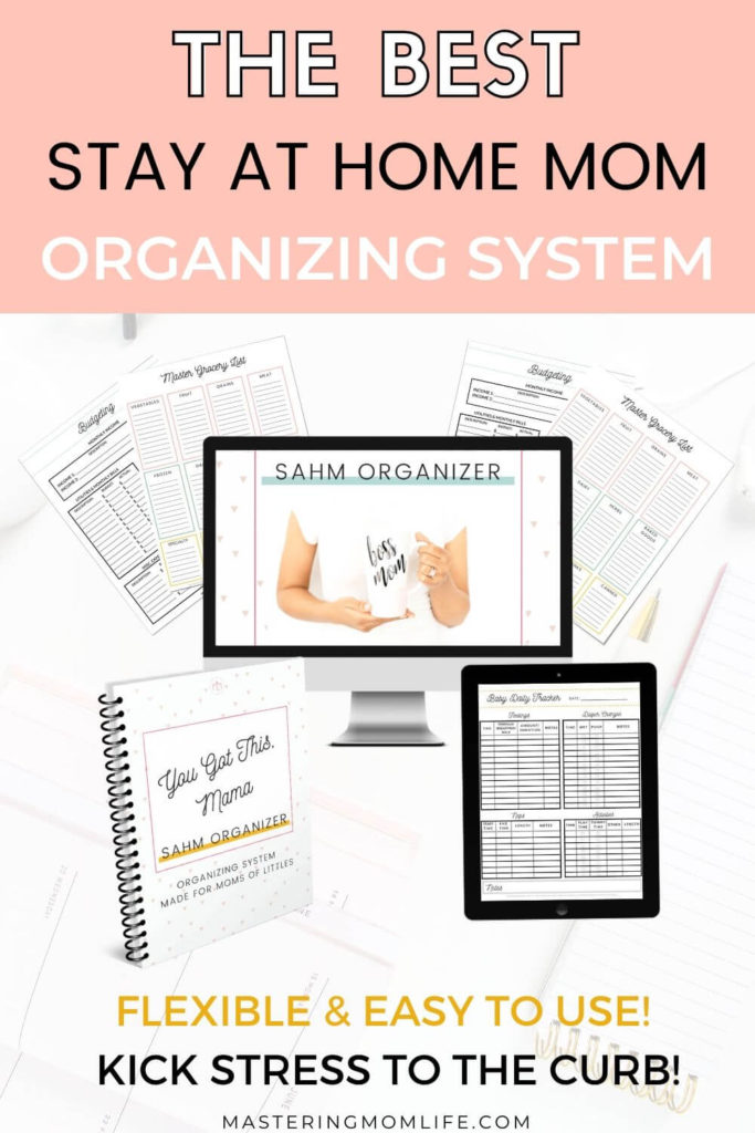 The best stay at home mom planner and organizing system