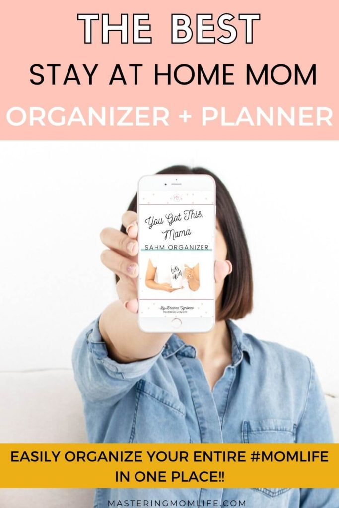 Stay at Home Mom Organizer + Planner