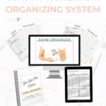 Stay at Home Mom Organizing System & Baby Activity Tracker